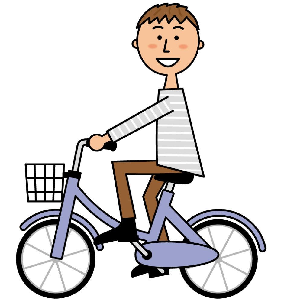自転車のサドルの高さ合っていますか?