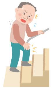 変形性膝関節症に伴う階段昇降中の膝関節痛