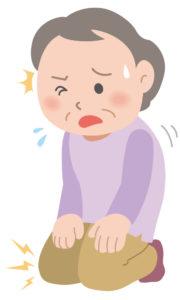 変形性膝関節症に伴う正座時の膝関節痛