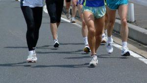 ランニング・マラソンの腰から下の画像