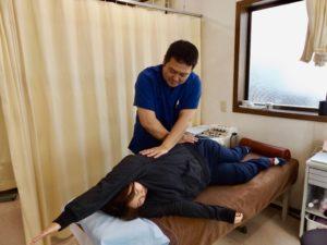 ハルモニアの肩こり・腰痛への施術
