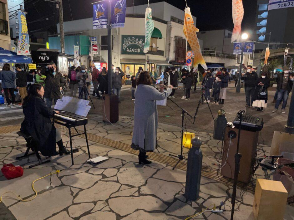 星川夜音にてフルートとピアノのコラボで演奏させていただきました!ハルモニアは音楽家のコンディショニングも行っております!